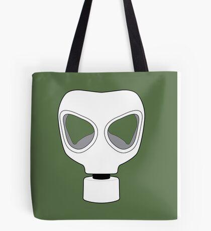 ZOMBIE APOCALYPSE GASMARK by Zombie Ghetto Tote Bag