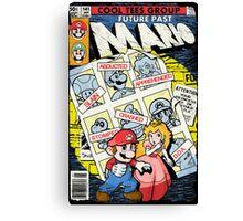 Future Past Mario (FULL COVER) Canvas Print