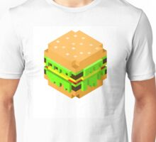 Cute Pixel Burger Unisex T-Shirt