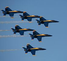 San Francisco, CA: Blue Angels by tpfmiller