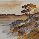 Landscape Sketch#1 by MegJay