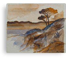 Landscape Sketch#1 Canvas Print