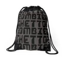 ZOMBIE GHETTO by Zombie Ghetto Drawstring Bag