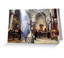 Purgatory's Church - Saint Thursday Greeting Card