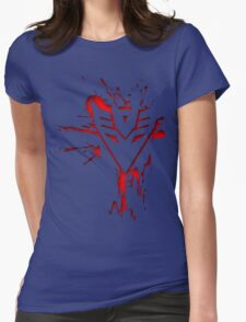 Decepticons Rise  Womens Fitted T-Shirt
