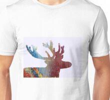 Deer silhouette Unisex T-Shirt