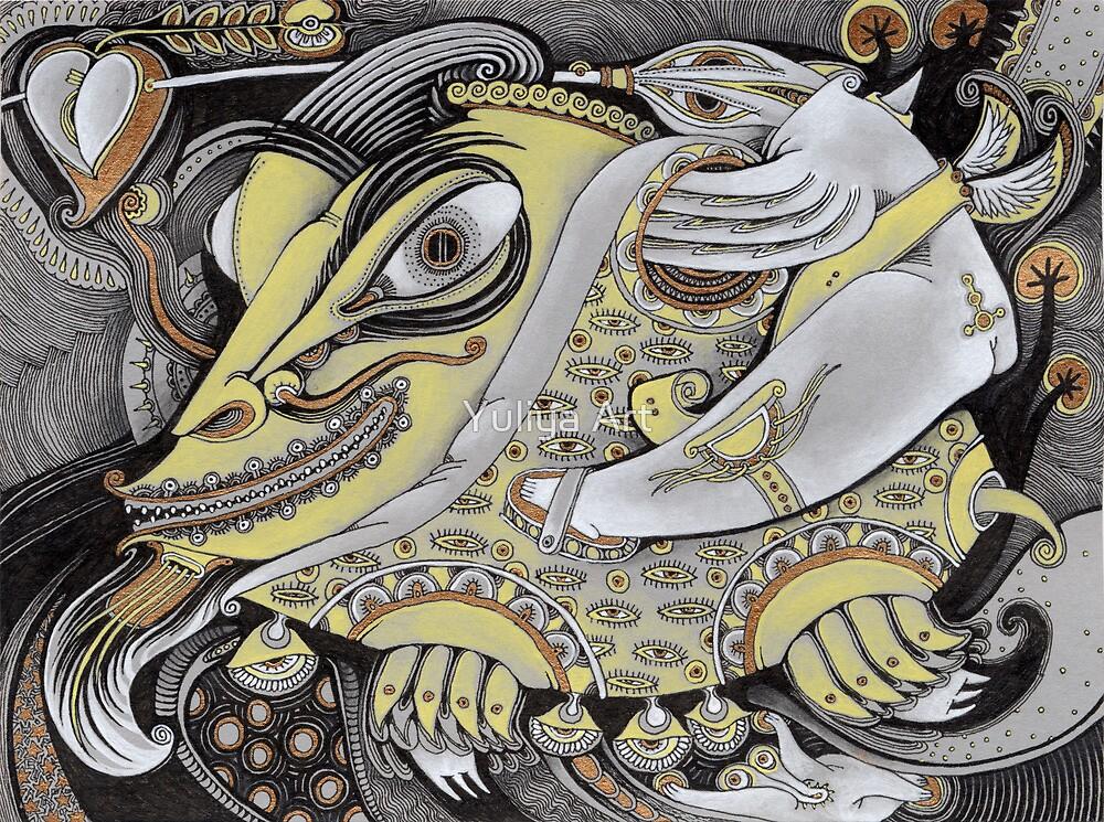 Fish by Yuliya Art