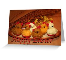 Happy Easter to everyone from Lithuania Greeting Card