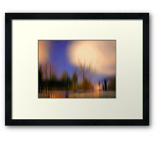 Five afternoon in my heart Framed Print
