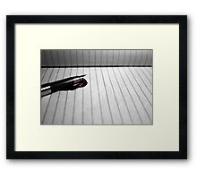 Murdered by QWERTY Framed Print