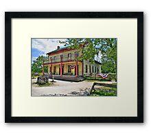Four Mile Inn Framed Print