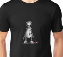 Robot in love Unisex T-Shirt