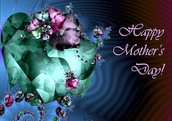 Heart Garden - Mother's Day card by rocamiadesign