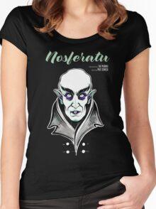 Nosferatu the Vampire Women's Fitted Scoop T-Shirt