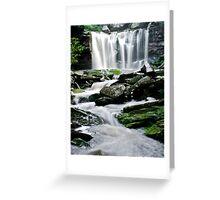 Elakala Falls Greeting Card