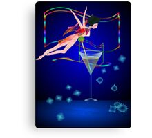 * bling performer :) Canvas Print