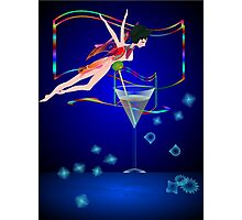 * bling performer :) Photographic Print