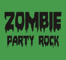 ZOMBIE PARTY ROCK by Zombie Ghetto Kids Clothes
