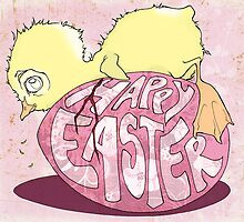 Happy Easter Ducky by Abbi Ptak