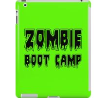 ZOMBIE BOOT CAMP by Zombie Ghetto iPad Case/Skin