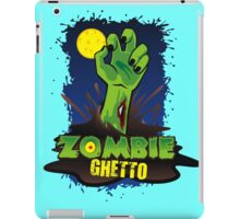 ZOMBIE GHETTO OFFICIAL LOGO DESIGN iPad Case/Skin