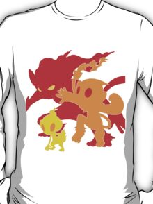 Evolution, Fire Apes! T-Shirt
