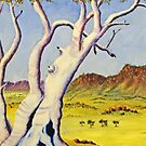 Ghostgums of the north by robert murray