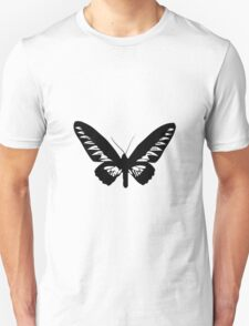 Black Butterfly Vector Art T-Shirt
