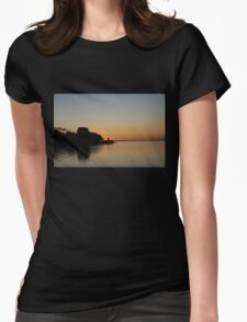 A Promise of a Sunny Day Womens Fitted T-Shirt