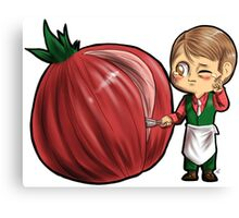 Hannibal vegetables - Onion Canvas Print