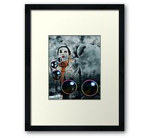 WIND WISHES Framed Print
