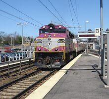 MBTA Commuter Rails by Eric Sanford