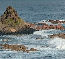 0936 Pyramid Rock by DavidsArt