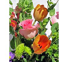 Birthday Blooms Photographic Print