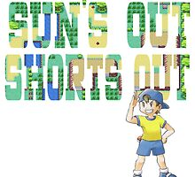Pokemon - Sun's Out Shorts Out! by JJJericho