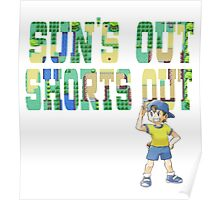 Pokemon - Sun's Out Shorts Out! Poster