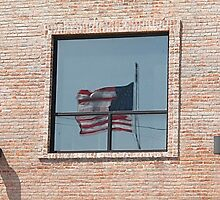 Reflections on Old Glory by Monnie Ryan