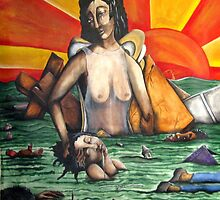 when the levees broke......one nation was divided...... by helene ruiz