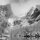 Dream Lake Monochrome by Eric Glaser