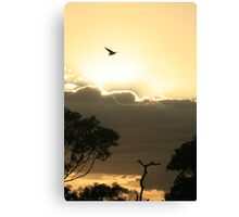 Easter Saturday Sunrise Canvas Print