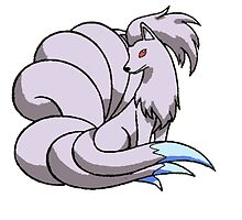 Shiny Ninetails by BelovedxCisque