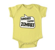 BANSHEES VAMPIRES ZOMBIES by Bubble-Tees.com One Piece - Short Sleeve