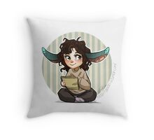 just draw- chibi Throw Pillow