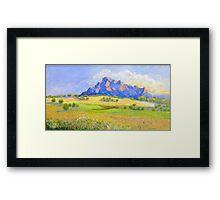 Mt Barney # 2 Framed Print