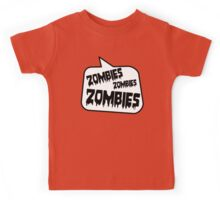 ZOMBIES ZOMBIES ZOMBIES by Bubble-Tees.com Kids Tee
