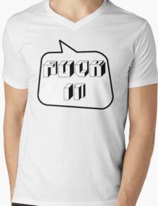 F... IT, Bubble-Tees.com Mens V-Neck T-Shirt