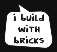 I BUILD WITH BRICKS by Bubble-Tees.com One Piece - Long Sleeve