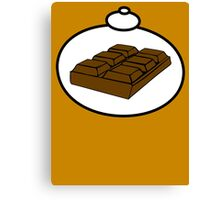Chocolate by Bubble-Tees.com Canvas Print