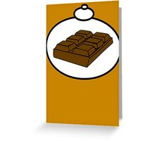 Chocolate by Bubble-Tees.com Greeting Card