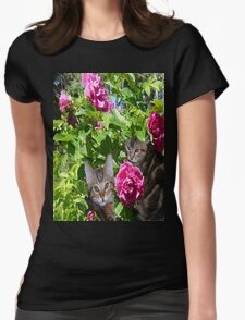 Kittens in The Roses T-Shirt